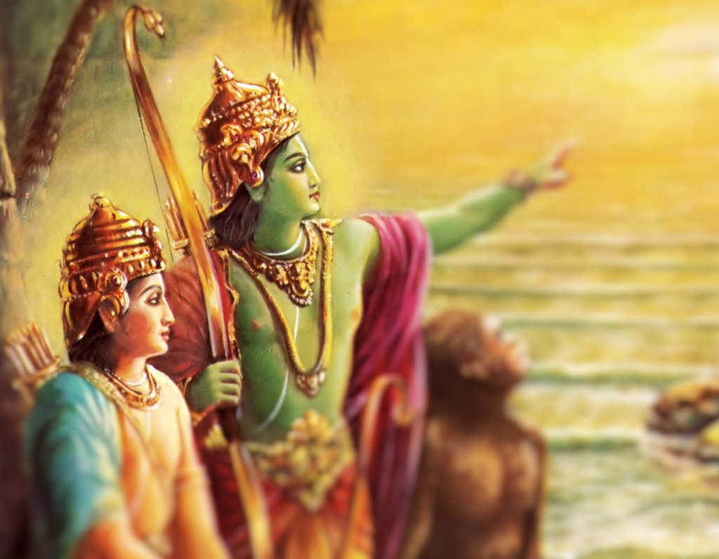 What did Rama say about mother and mother land?