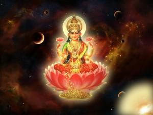 Maa MahaLakshmi Devi Laxmi Goddess of Wealth