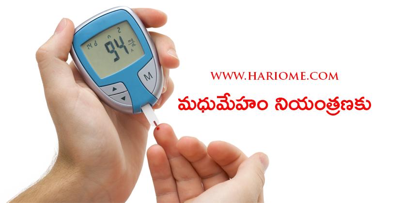 control of diabetis