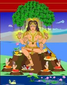 దక్షిణామూర్తి స్తోత్రము... Dakshinamurty Stotram in Telugu.