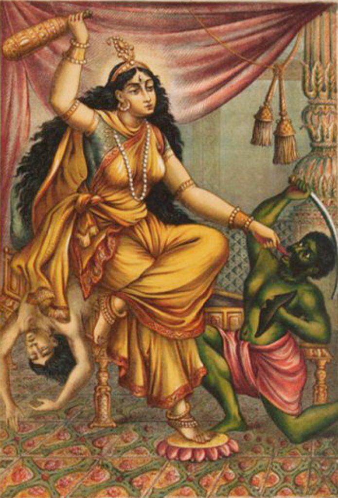 goddess bhagalmukhi