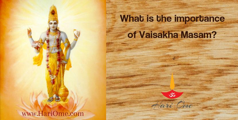 Vaisakha Masam English