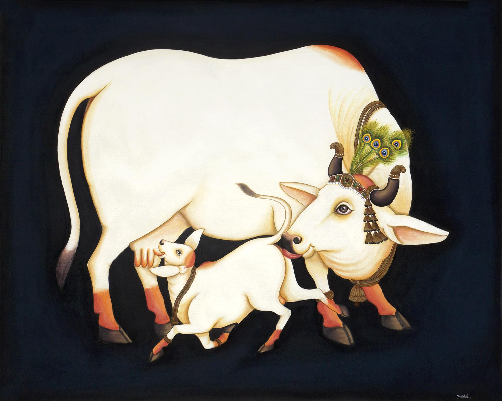 kamdhenu-and-her-calf