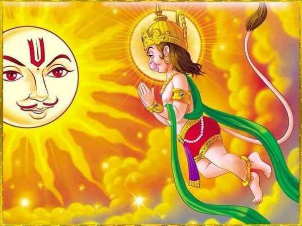 surya-devta-little-hanuman
