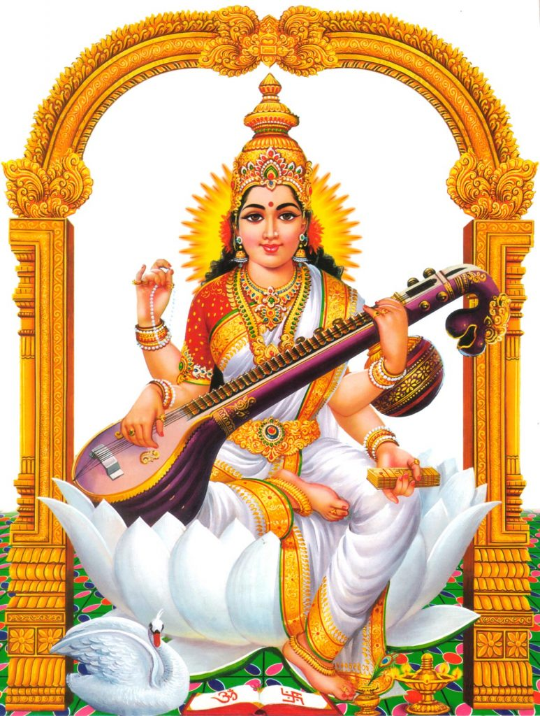 Image result for images of saraswathi devi
