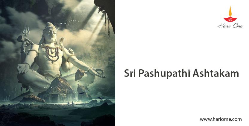 Sri Pashupathi Ashtakam