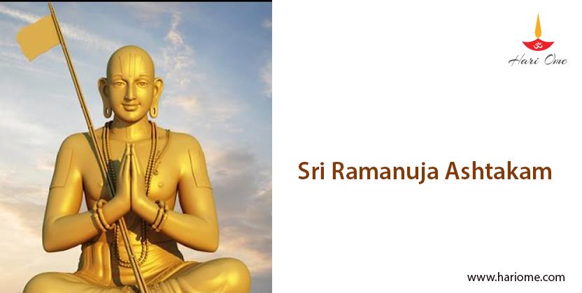Sri Ramanuja Ashtakam