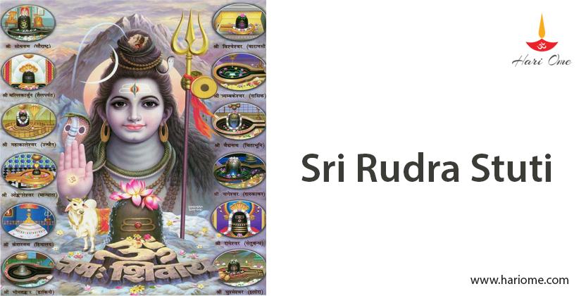 Sri Rudra Stuti