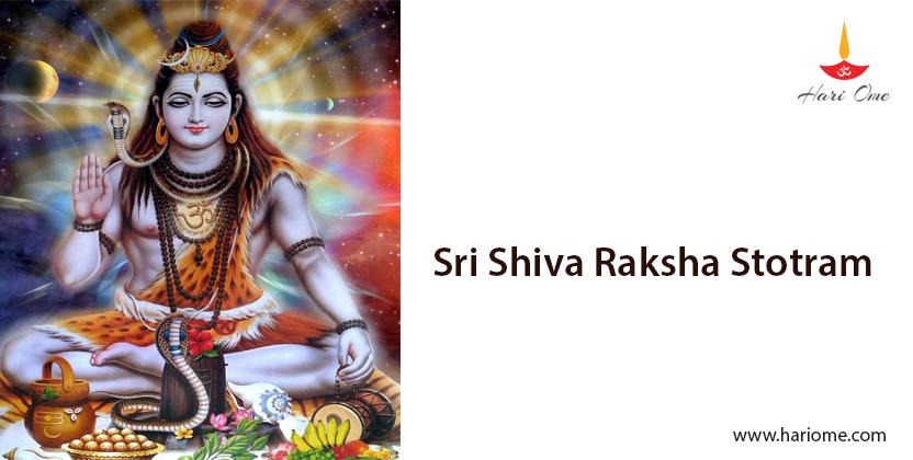 Sri Shiva Raksha Stotram