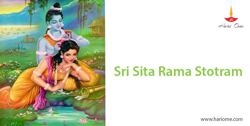 Sri Sita Rama Stotram
