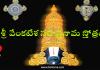 శ్రీ వేంకటేశ సహస్రనామ స్తోత్రం - Sri Venkateshwara Sahasranama Stotram in Telugu
