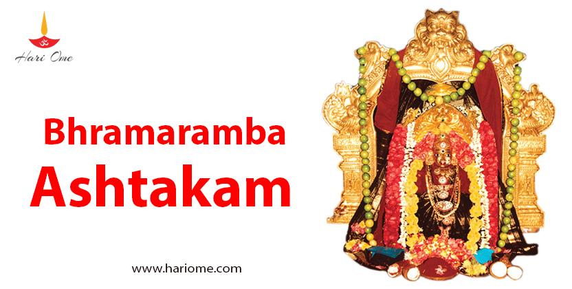 Bhramaramba ashtakam