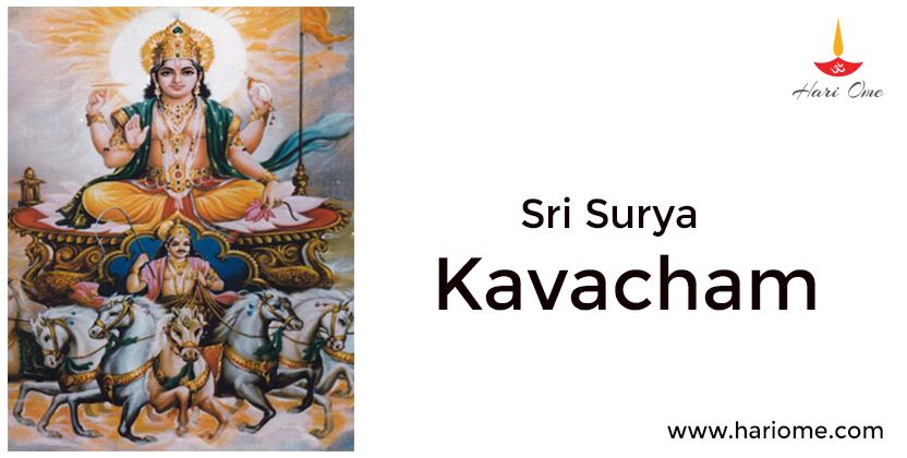 Sri Surya Kavacham